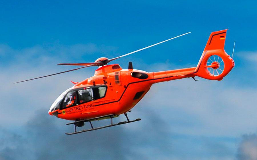 Helicóptero tem buzina?