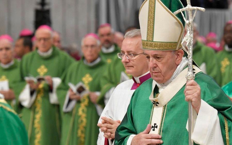 Amazônia precisa do fogo de Deus, diz Papa