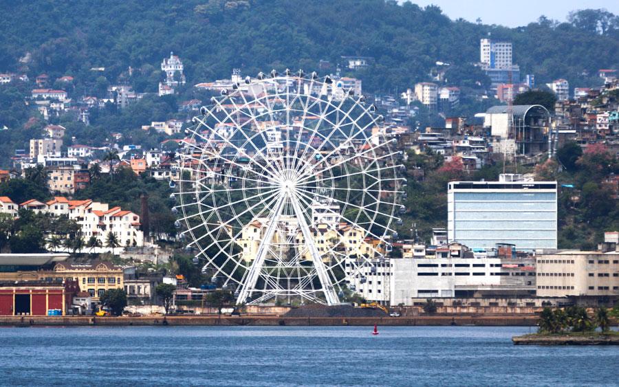 Conheça a maior roda-gigante da América Latina