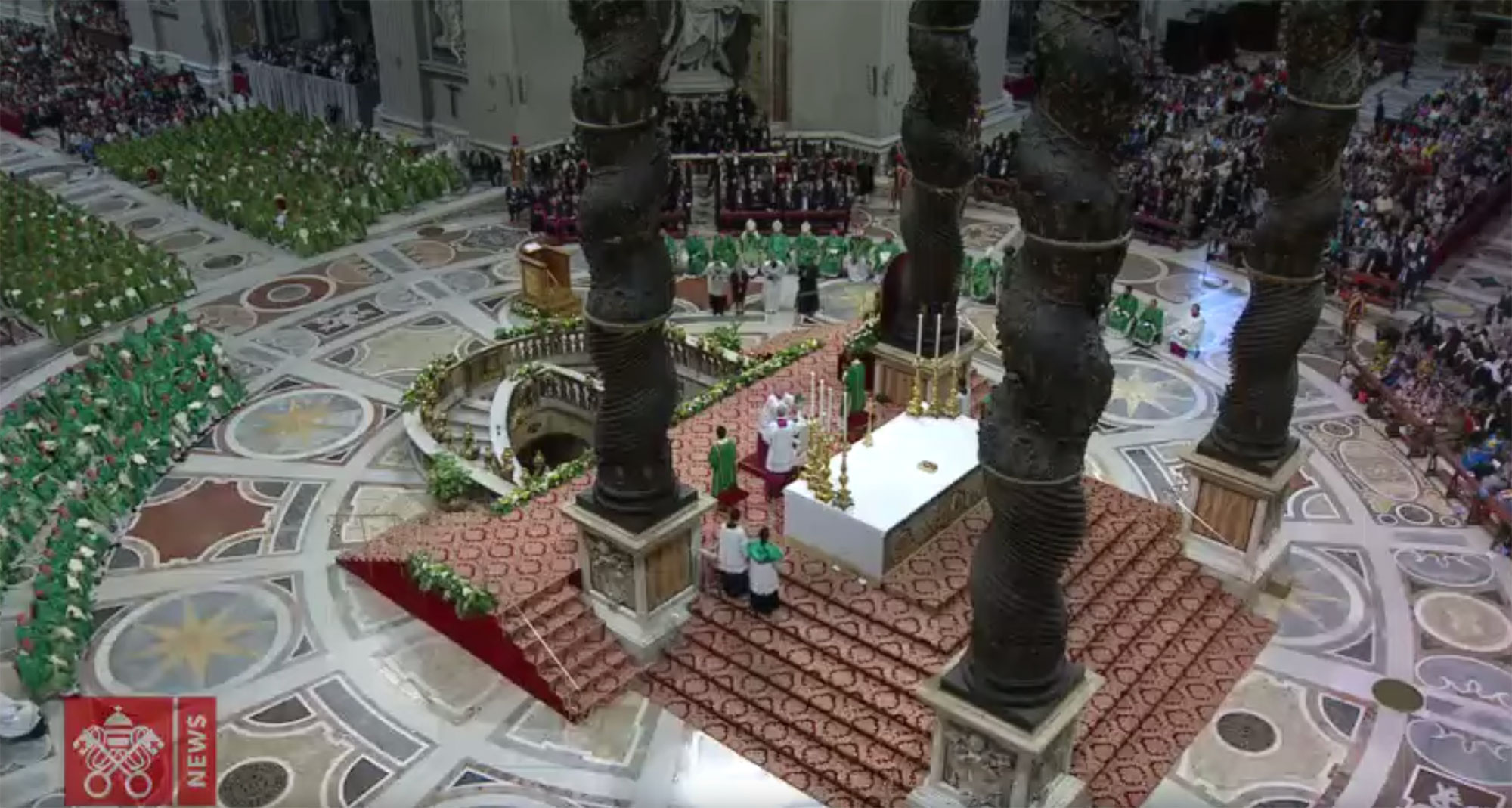 Papa Francisco-Santa Missa para a abertura do Sínodo dos Bispos