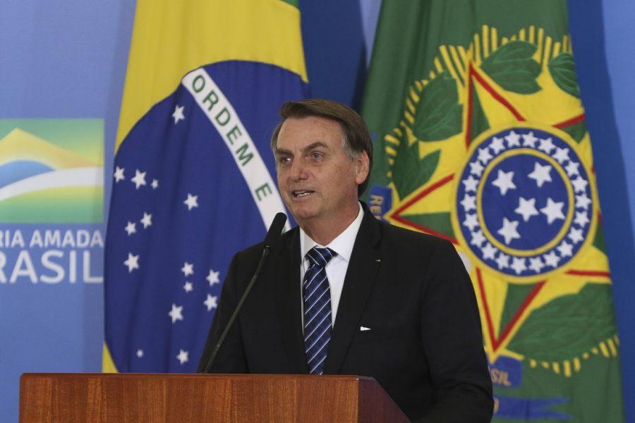 Bolsonaro assina MP para solucionar conflitos entre União e devedores (foto: Wilson Dias/Agência Brasil)