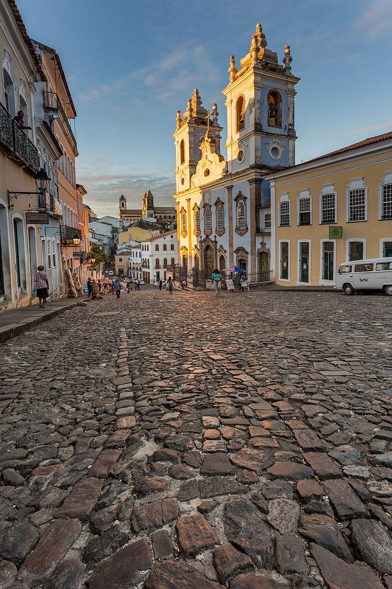 Igreja do Rosário dos Pretos no Pelourinho (foto: Ciroamado / wikimedia)