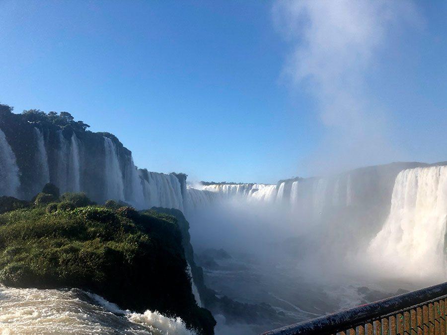 Cataratas do Iguaçu celebra mais um ano como uma das Maravilhas da Natureza