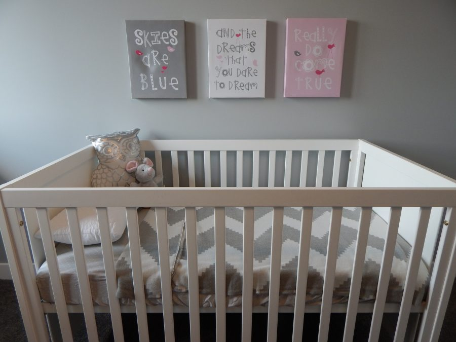 O quarto do bebê deve ser pensado com amor e carinho
