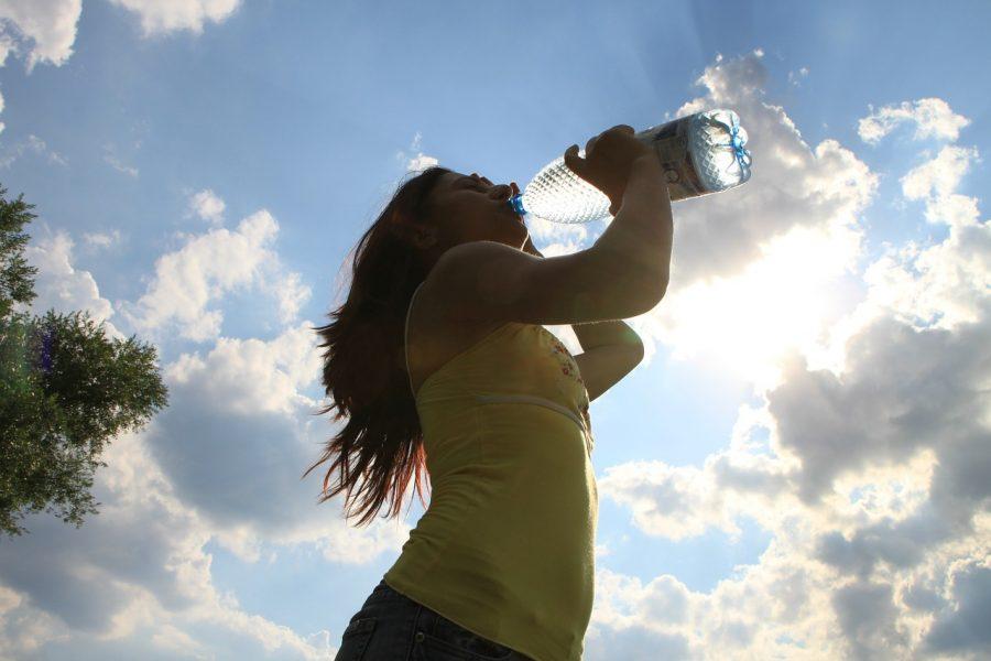 É muito importante manter o corpo hidratado