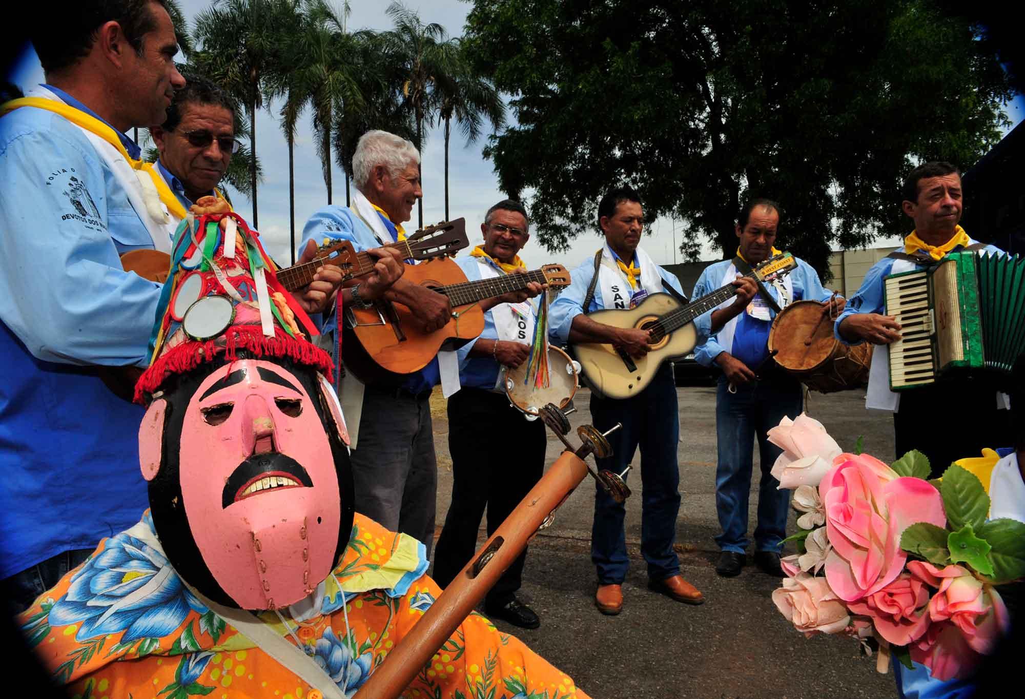 Folia de Reis é declarada patrimônio cultural imaterial de Minas Gerais (foto: Agência Brasil)