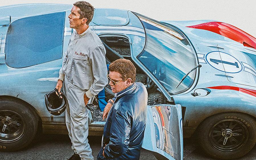 Filme conta treta entre Ford vs Ferrari