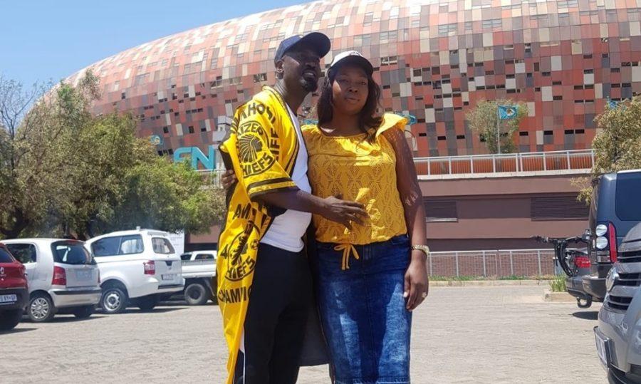 Hector Mkansi e Nonhlanhla Soldaat