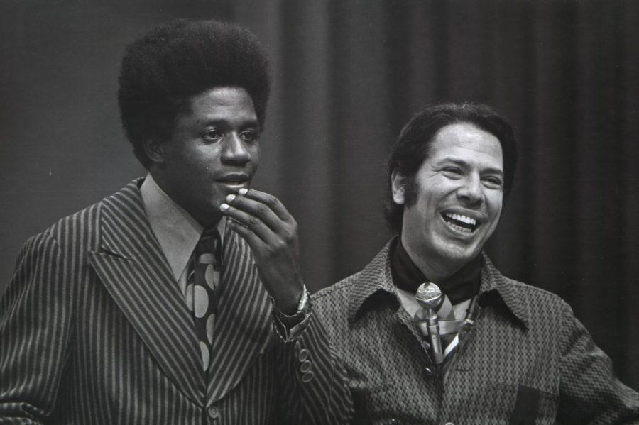 Tony Tornado e Sílvio Santos