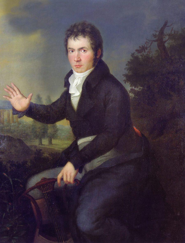 Beethoven, por Joseph Mähler