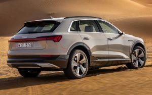 Audi e-tron é um SUV 100% elétrico