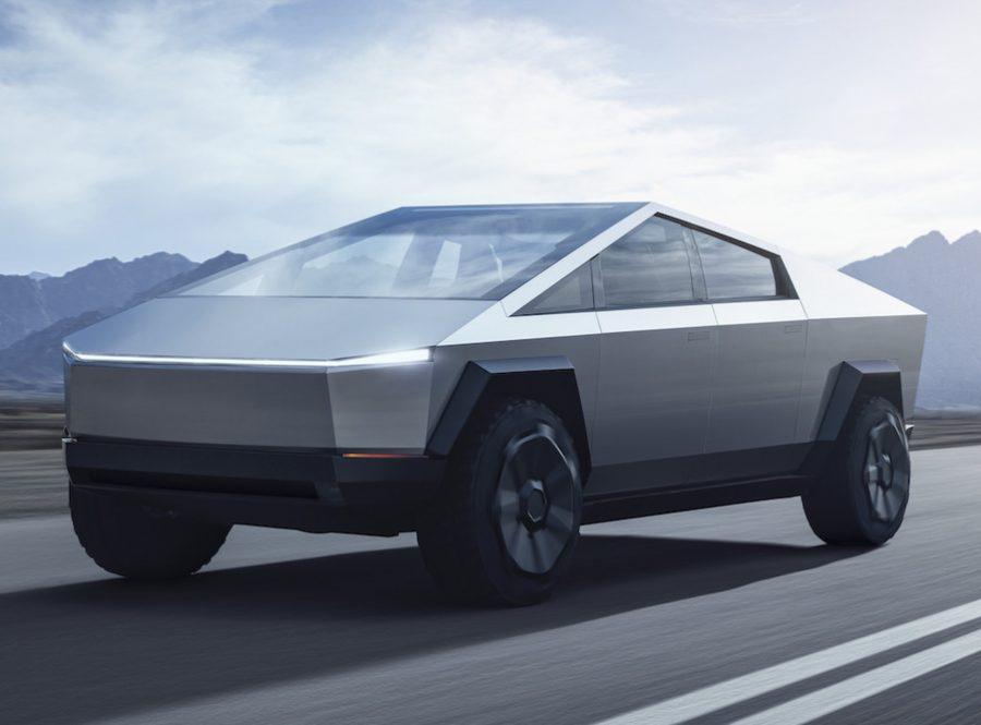 """""""Melhor do que um Ford F-150 e mais rápido do que um Porsche 911"""", é como Elon Musk define o modelo — Foto: Divulgação/Tesla"""