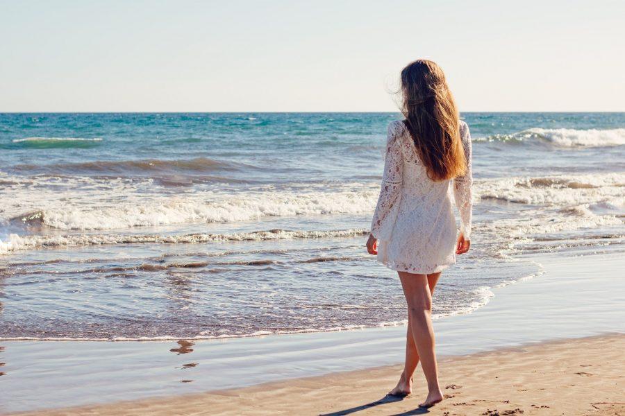 Na praia as opções mais curtas sempre são muito bem vindas.