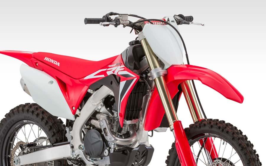 Novas Honda CRF de competição