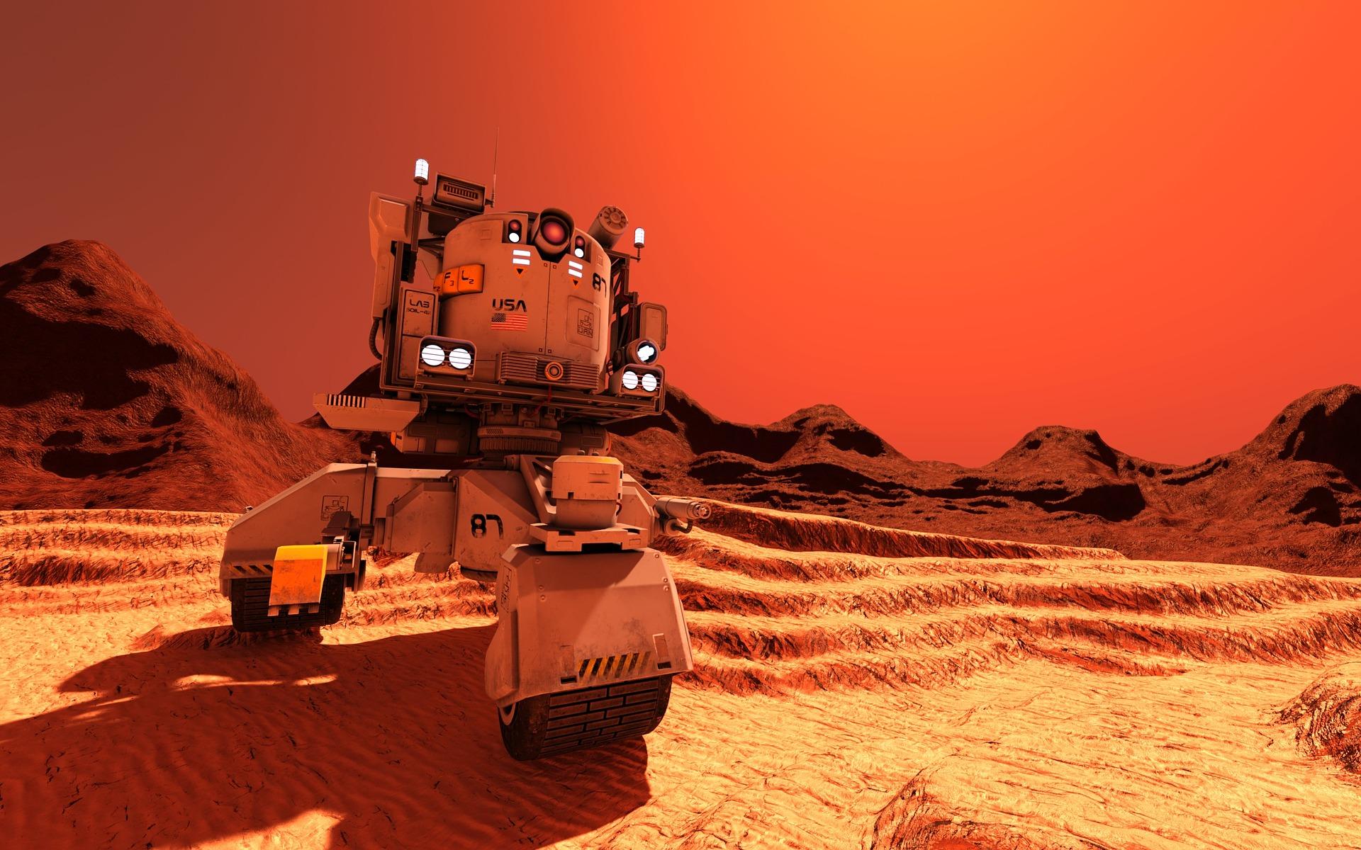 Você poderá pagar pela sua viagem à Marte com trabalho
