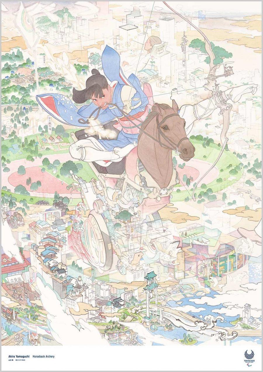 Akira Yamaguchi / Pintor