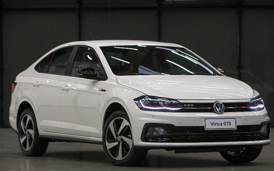 Não foi à toa que o Virtus se tornou o primeiro sedã Volkswagen a ostentar a insígnia GTS