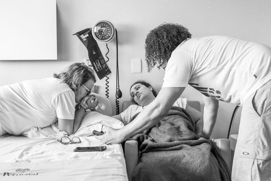 Momentos de apoio da família - Foto: Divulgação / MF Press Global