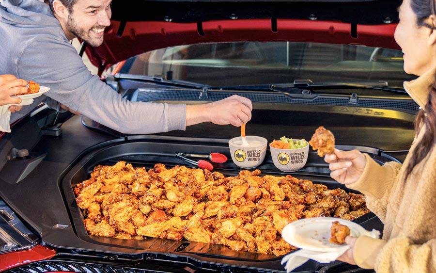 SUV do Mustang poderá ser sua geladeira portátil