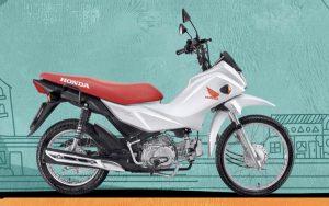Honda Pop 110i, é a mais simples e barata da linha, porém cheia de qualidades para apreciar