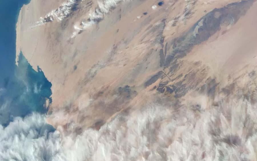 Câmera de smartphone chinês fotografa a Terra do espaço