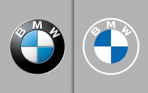 O novo logo da BMW