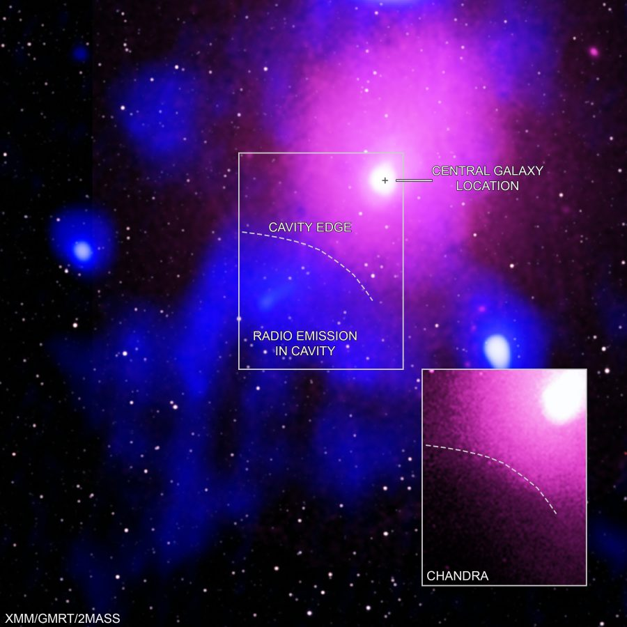 As evidências da maior explosão vista no Universo estão contidas nessas imagens compostas