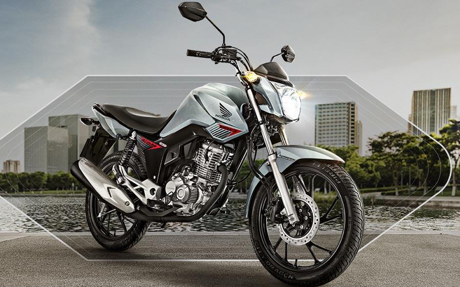 Honda CG 160 Fan além do design esportivo, conta com segurança e tecnologia