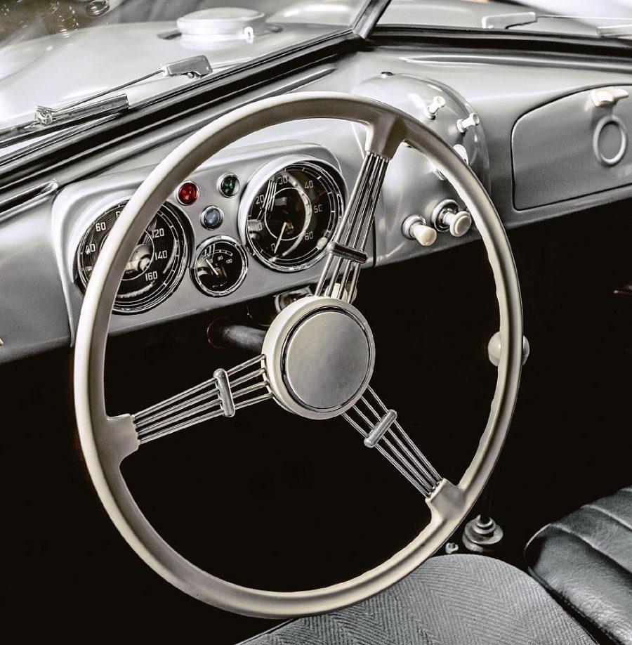 Volante do Porsche 356 SL