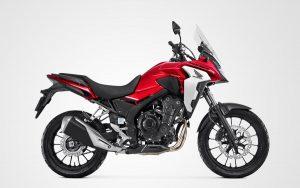 CB 500X a moto trail da Honda
