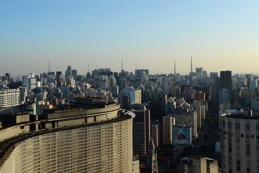 Vista do Edifício Itália, região central de São Paulo (Foto: Rovena Rosa/Agência Brasil)