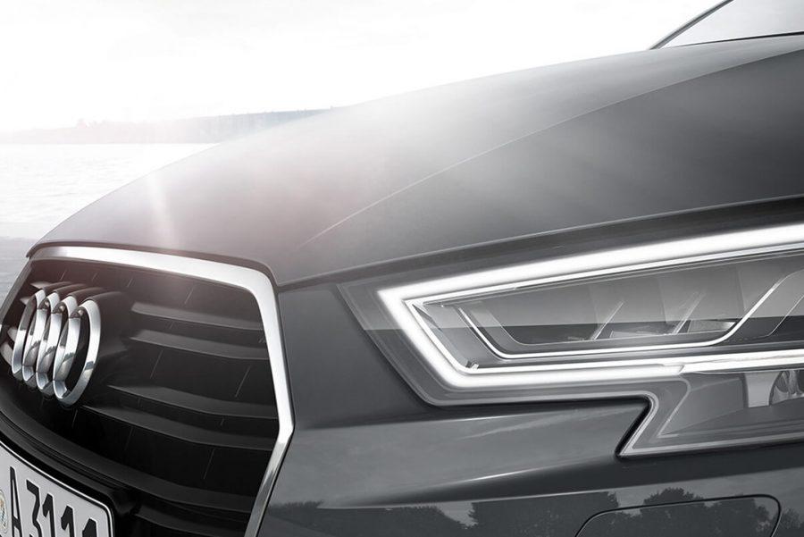Usando aço de alta resistência, o A3 Sportback apresenta excelente rigidez de chassi, o que se traduz em maior estabilidade, sobretudo em curvas.