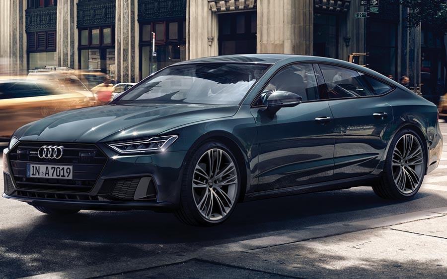 Audi lança novo A7 Sportback, o coupé com sistema híbrido leve e direção semiautônoma