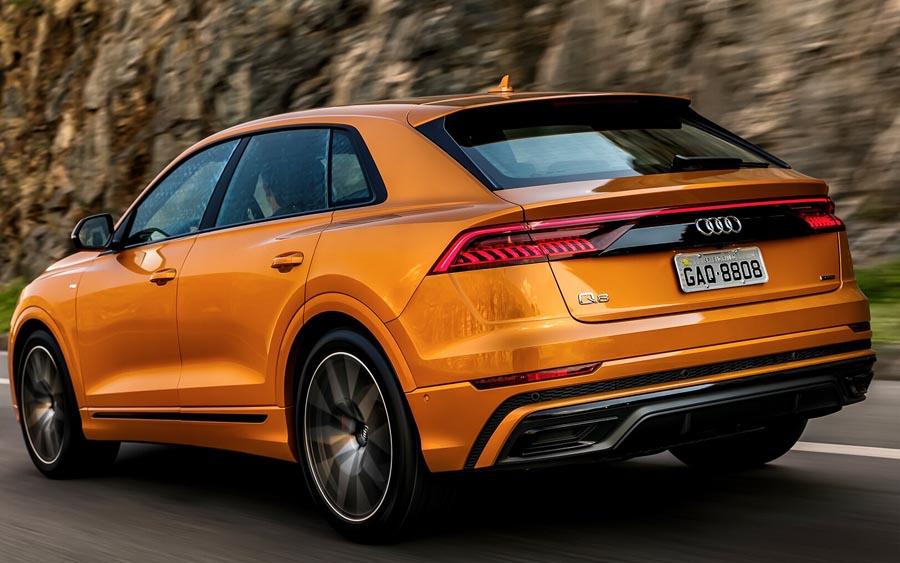 Audi Q8 é um versátil SUV extremamente luxuoso