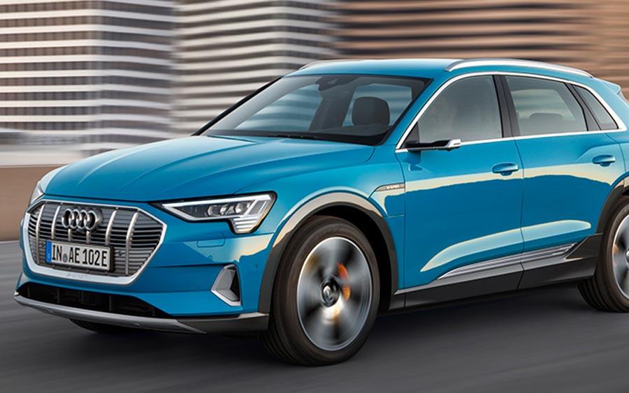 Audi e-tron, o modelo 100% elétrico da fabricante alemã