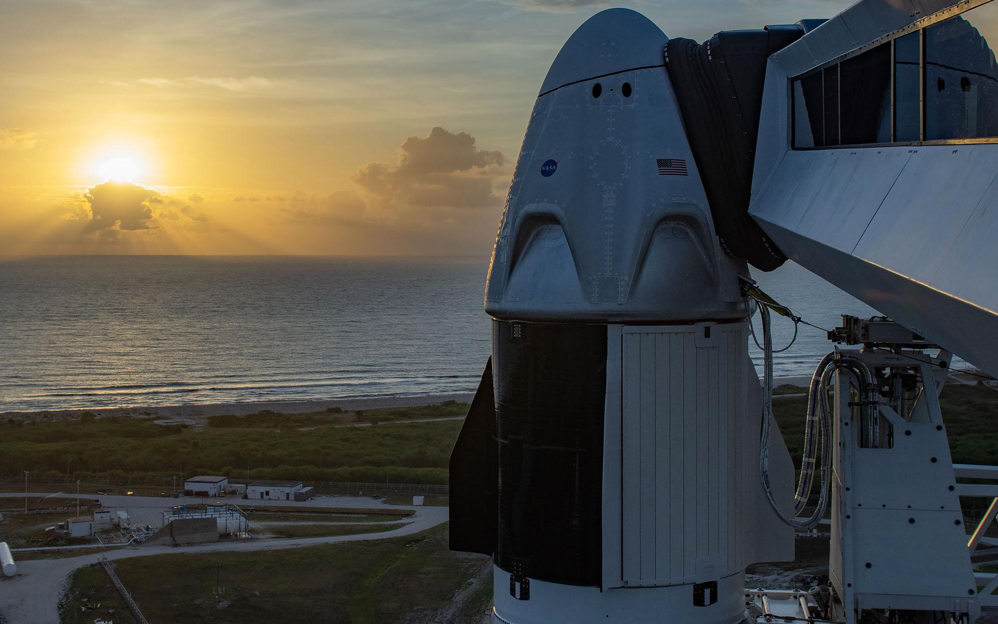 A expectativa era muito grande para que, caso tudo ocorra bem, os EUA voltem a enviar astronautas para o espaço sem bases de foguetes russas