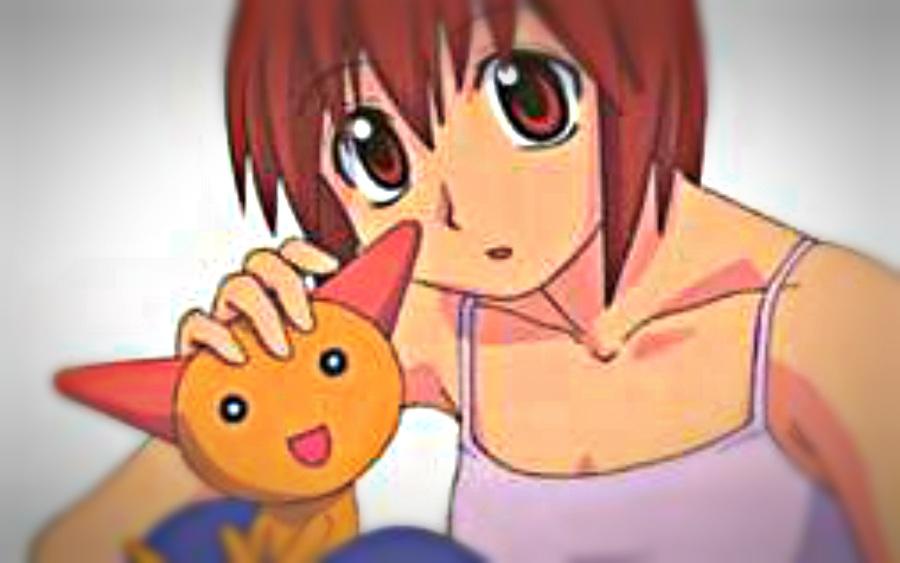 Clássico desenho de mangá (fonte: brasil escola)