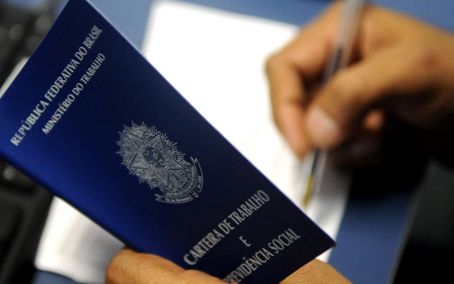 Carteira de trabalho (Foto: Tony Winston/Agência Brasília)