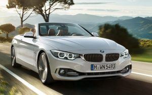Se encante com o Série 4 da BMW, o 430i Cabrio Sport