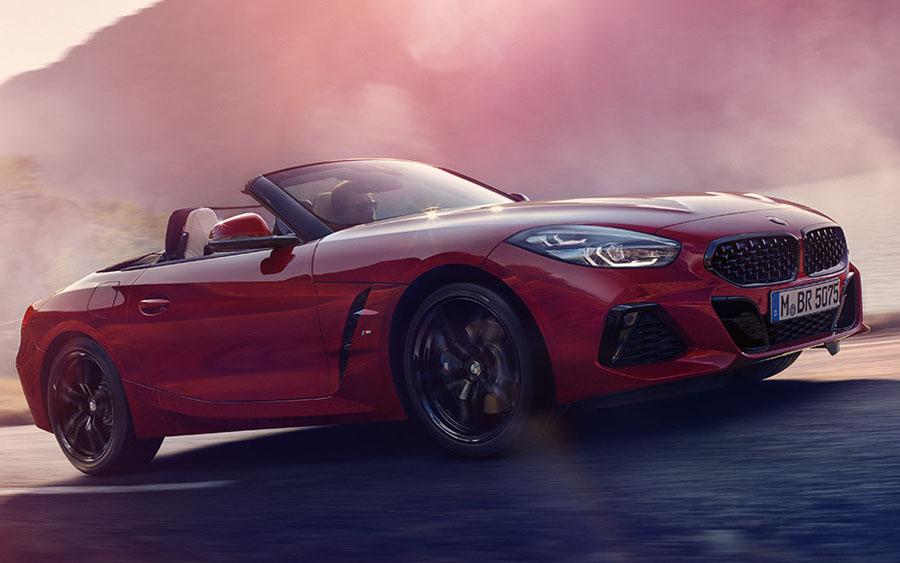 Conheça o incrível conversível Z4 da BMW