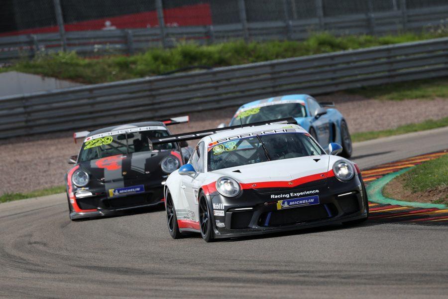 Porsche 911 GT3 Cup, Porsche Racing Experience, Michael Fassbender