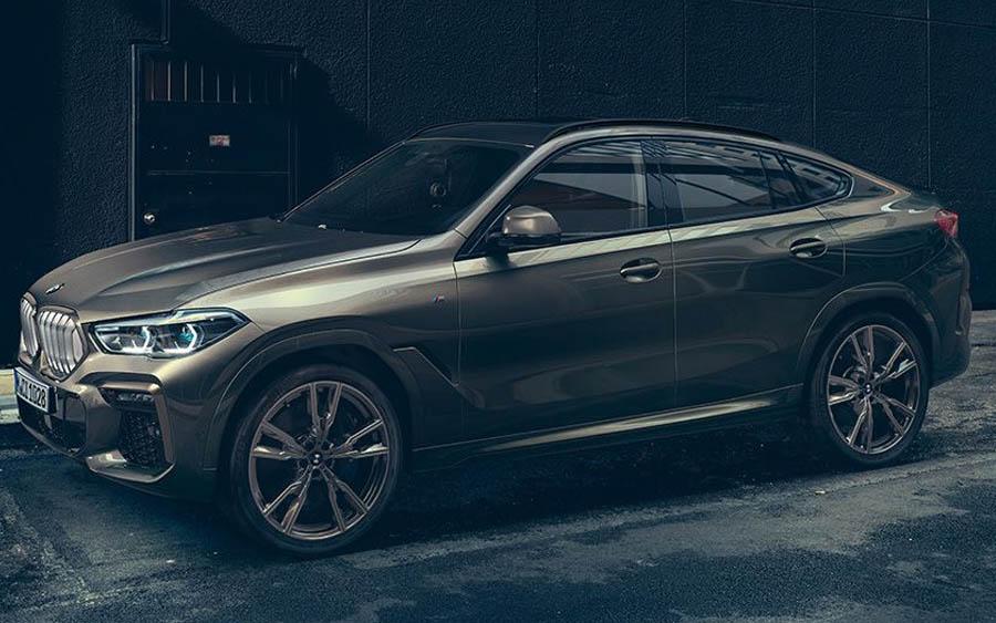 Novo BMW X6 tem motor 3.0 de 340 cv e acelera de 0 a 100 km/h em 5,5 segundos