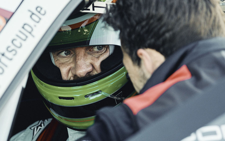 Astro de Hollywood Michael Fassbender disputa com Porsche a European Le Mans Series