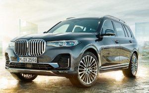 Muito luxo no BMW X7