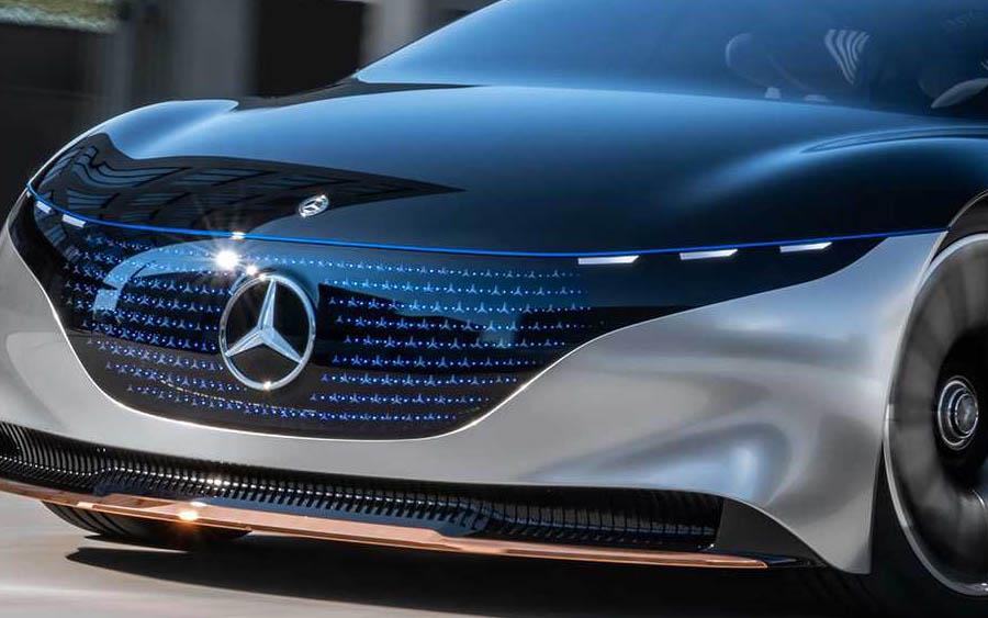 Futuro do carro elétrico na Mercedes é com o Vision EQS