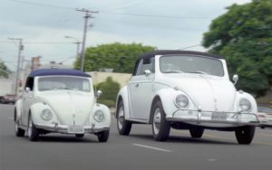 SUV do Fusca? Pai e filho constroem versão gigante do Volkswagen