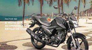 Yamaha Factor 150 ED com motor BlueFlex 2