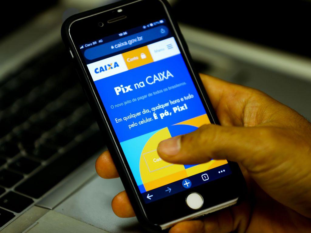 Aplicativo Pix (Foto: Marcello Casal JrAgência Brasil)