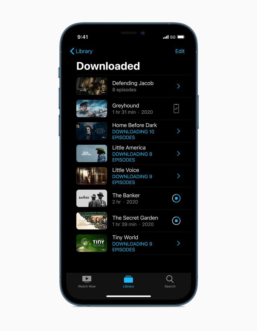 O 5G nos modelos do iPhone 12 Pro garantem velocidades mais rápidas de download, experiências mais responsivas em jogos, FaceTime em HD e muito mais.