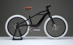 A bicicleta elétrica da Harley-Davidson